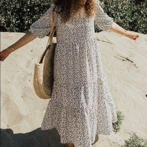 Carly Jean LA Austin Leopard Print Maxi Dress